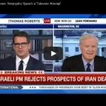 Chris Matthews livid after Netanyahu's speech